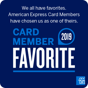 American Express Card Member Favorite Badge