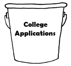 College Applications Bucket