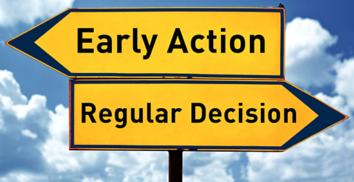 Early Action to Regular Decision