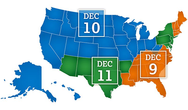 PSAT release map
