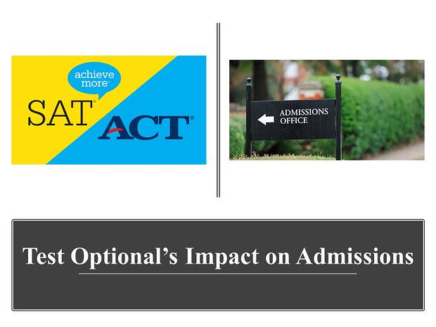SAT-ACT test optional impact on admissions