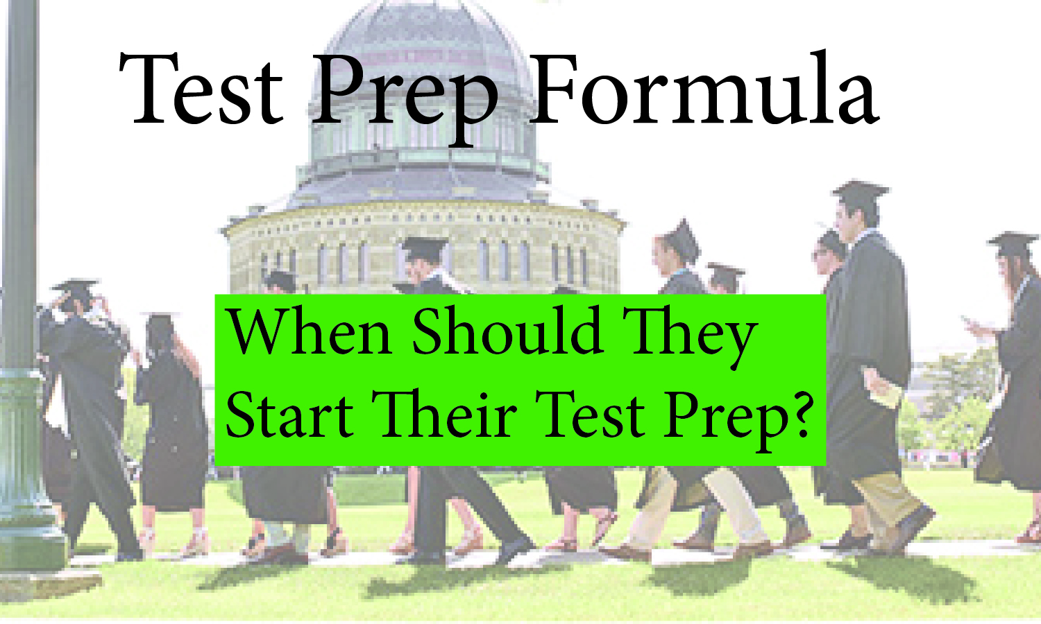 Test Prep Formula Intro