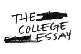 College Essay Crossed Out sign