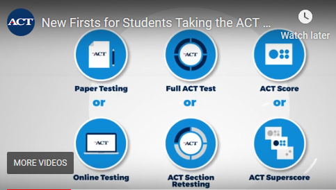 ACT firsts